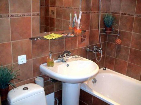 Как сделать ремонт в ванной в хрущевке своими руками недорого 74