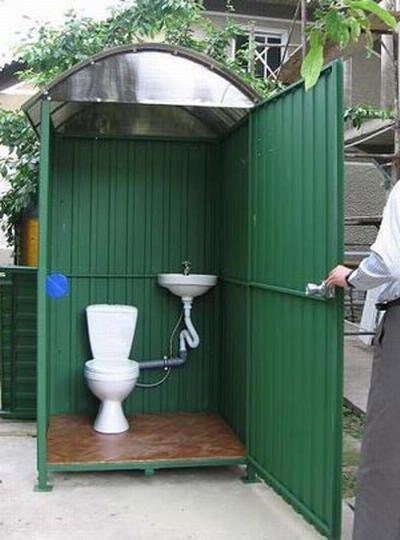 Дизайн туалетов для дачи