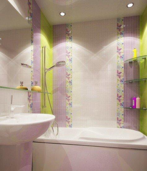 Керамическая плитка для ванной дизайн хрущевка