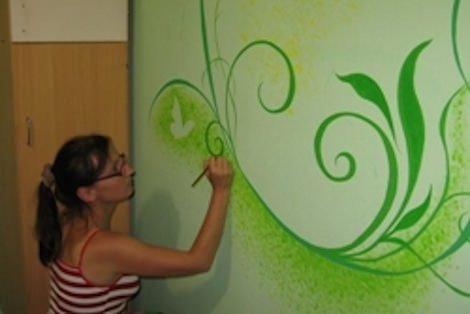 Как своими руками раскрасить стены подъезда