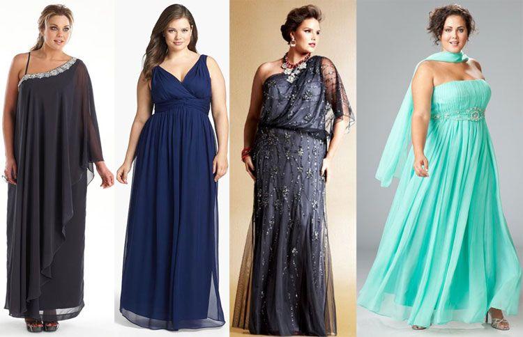 Платья в стиле ампир для полных новые модели сезона 73