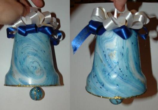 Как сделать колокольчик из пластиковых бутылок