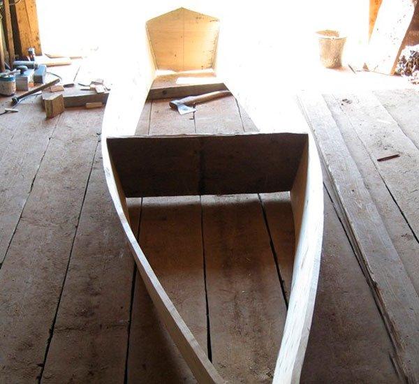 Простейшая лодка из дерева своими руками 99