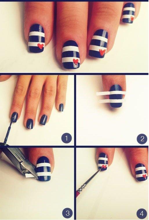Как сделать красивые рисунки на ногтях 449
