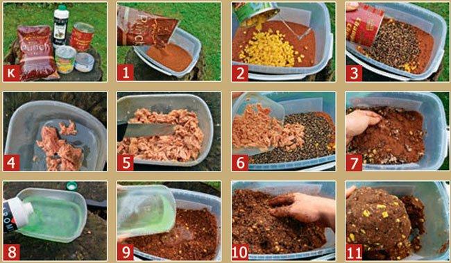Прикорм своими руками рецепты 81