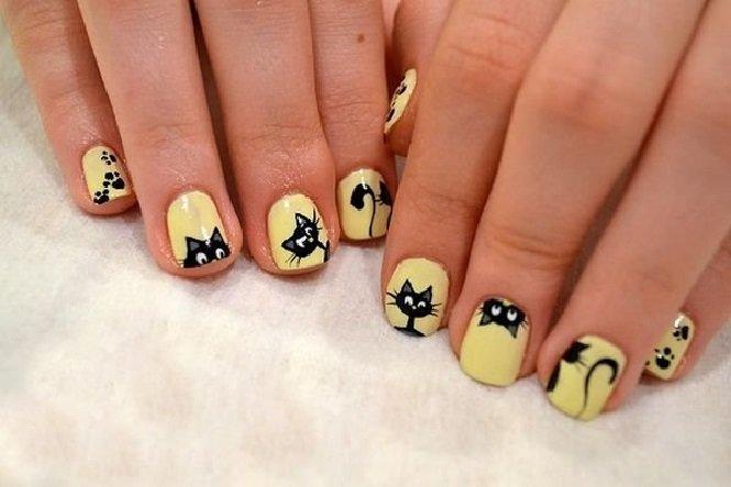 Фото детских ногтей гель лаком