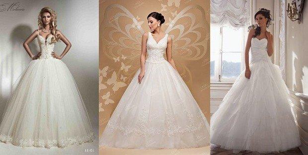 Модні весільні сукні в 2017 році. Новинки фото  a6f5712cf05a4