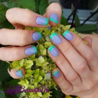 Дизайн нігтів гель лаком весна літо 2017: новинки, фото