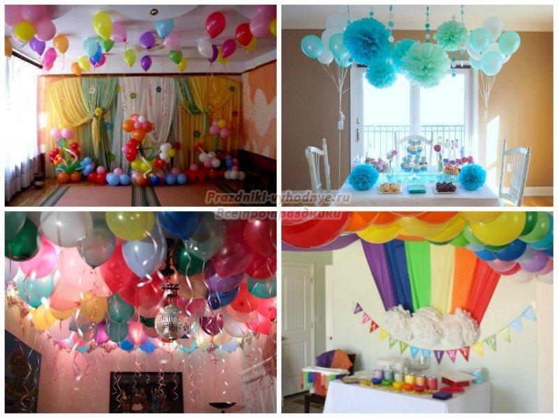 Оформление комнаты ко дню рождения ребенка своими руками фото 7