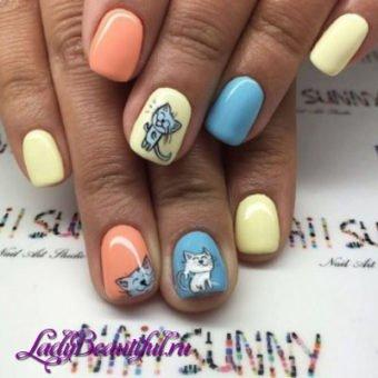 e300cac7997aec80e98fdb5a106fa5d8 Модні нігті весна літо 2017: новинки, фото