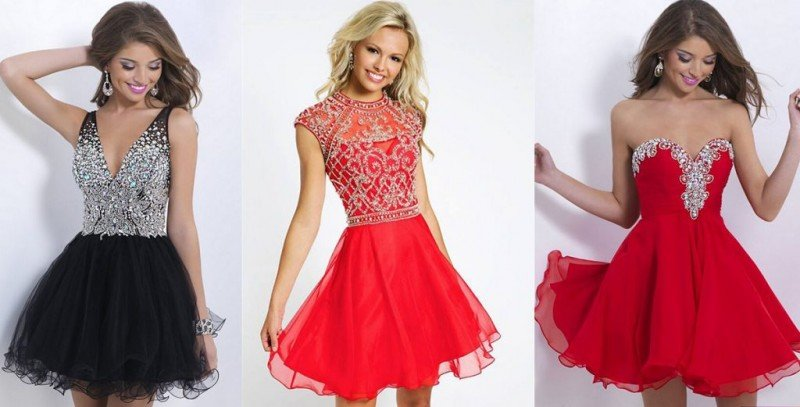 Модные платья на новый год 2017