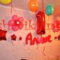 Як прикрасити кімнату дитині на день народження: 70 фото ідей