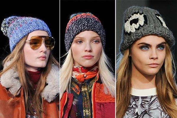 Модні шапки 2017  жіночі дитячі в язані d21e69be0c4df