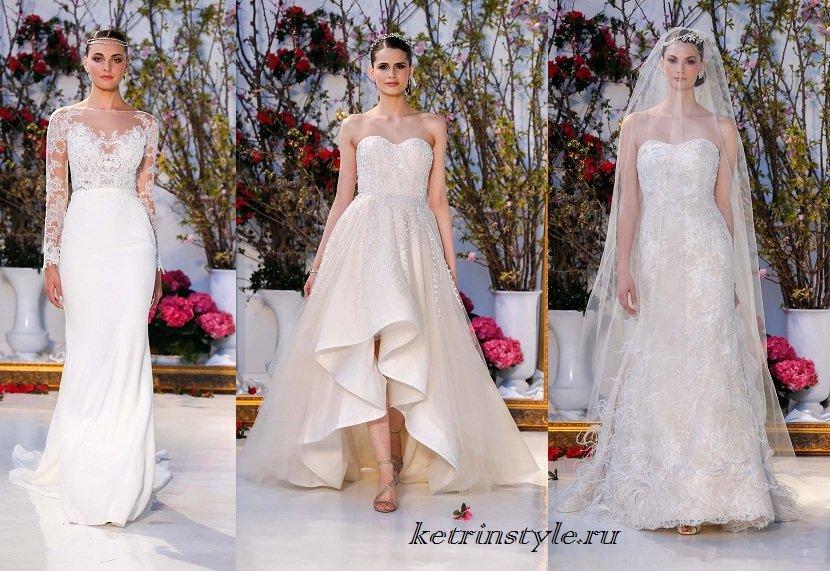 Модні весільні сукні 2017 новинки тенденіт фото  102d27224a12c