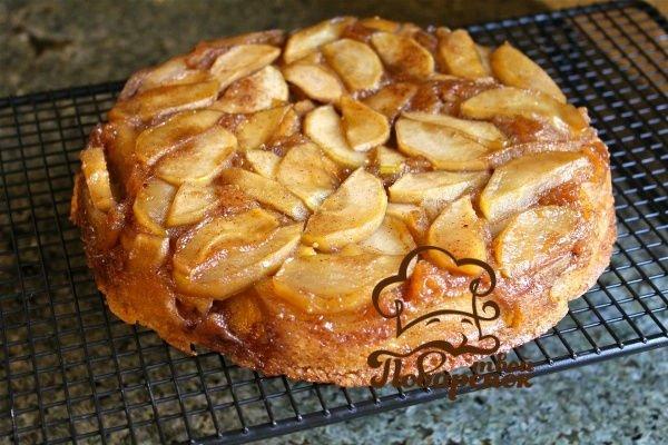 Сдобный пирог с яблоками рецепт