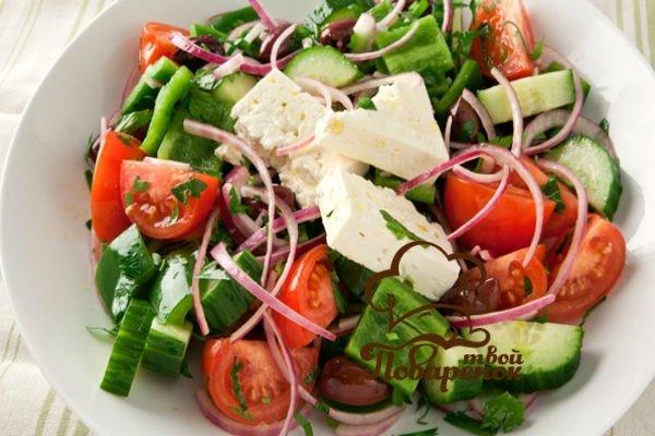 5fcce4edb10f39201518ce67513eae17 Історія походження класичного грецького салату