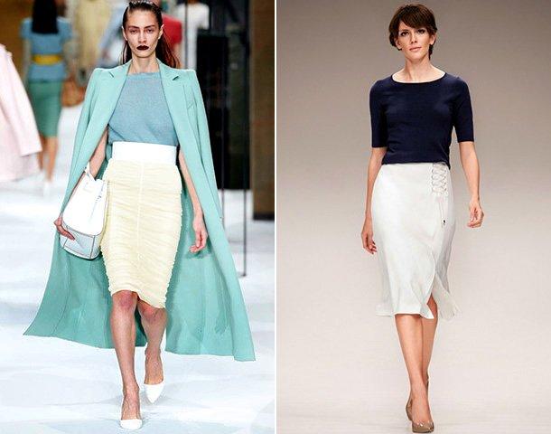Модні жіночі спідниці 2018  тенденції + фото з показів осінь-зима ... 9211b9e4ccfab