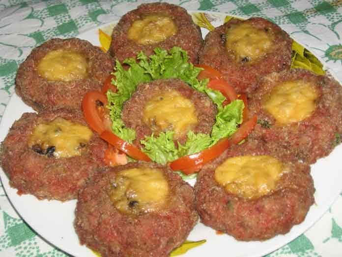 Праздничное блюдо из фарша рецепт