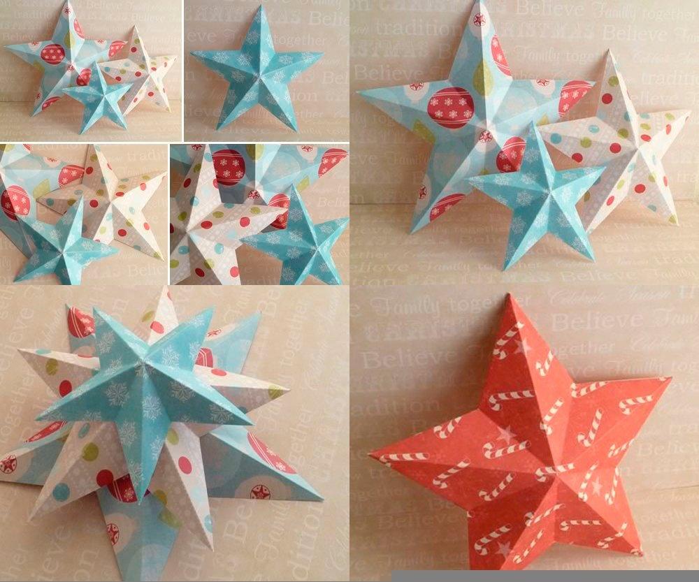 Делаем звезды из бумаги своими руками