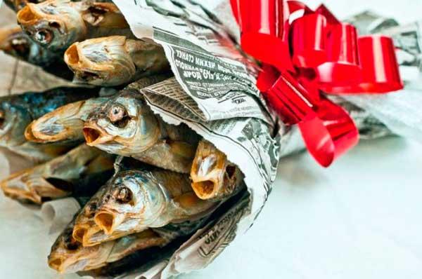 Рыба папе в подарок 487