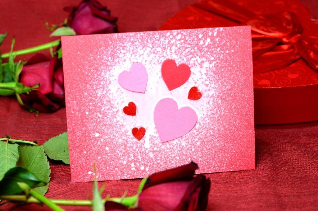 Открытки ко дню святого валентина самодельные6