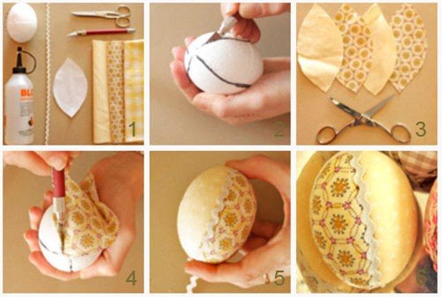 Украсить яйцо своими руками