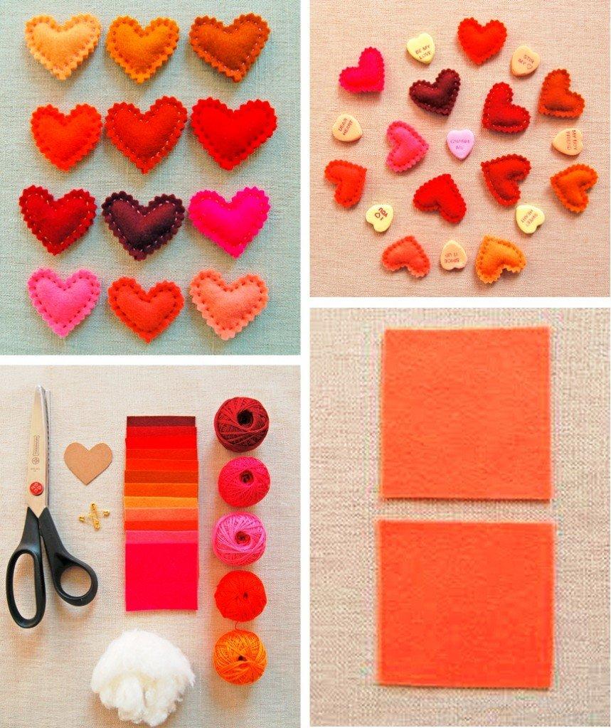 Поделки из бумаг сердечки