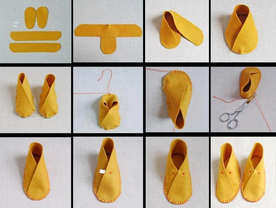 Видео мастер-класс по пошиву домашних тапочек из дубленки своими руками