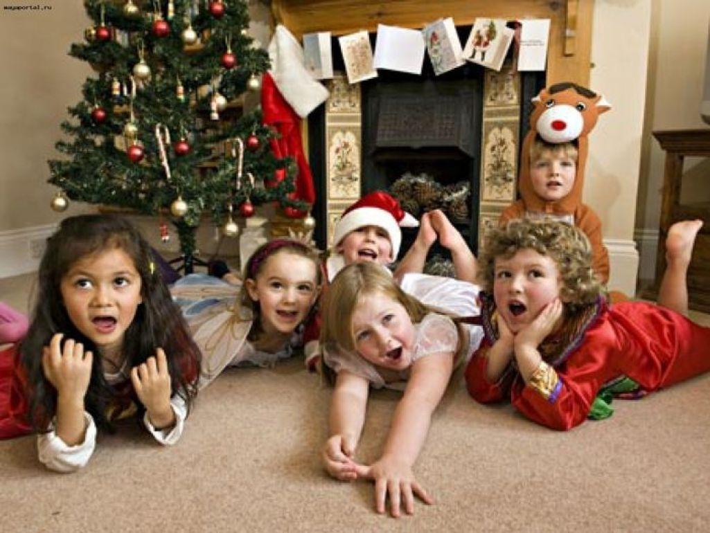 Веселые конкурсы детей новый год