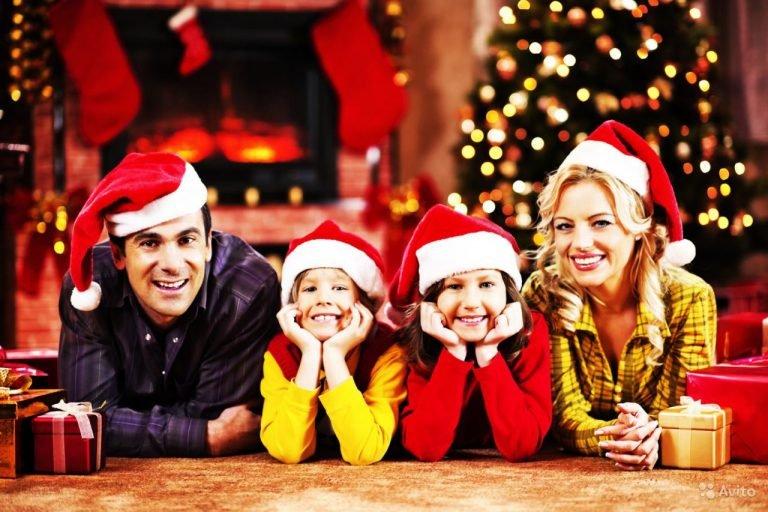 Картинки семейный праздник новый год