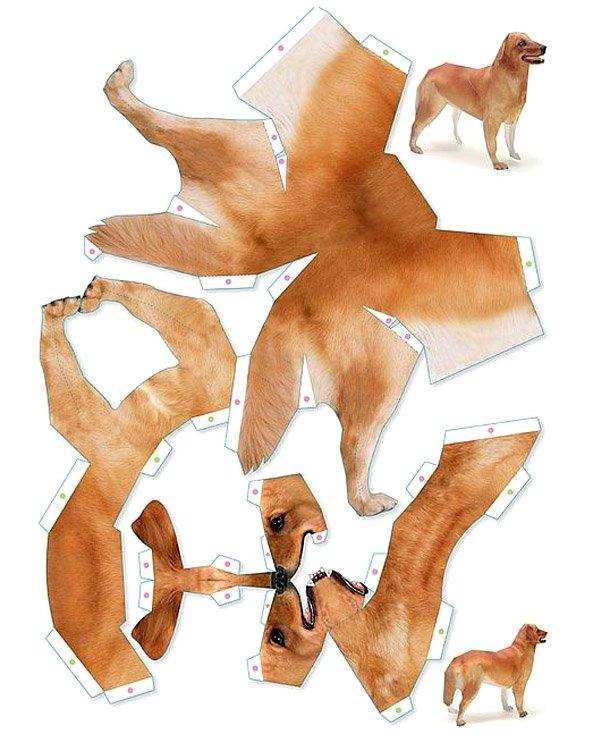 Животных из бумаги своими руками 77