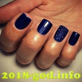 Дизайн ногтей гелем капельками 98