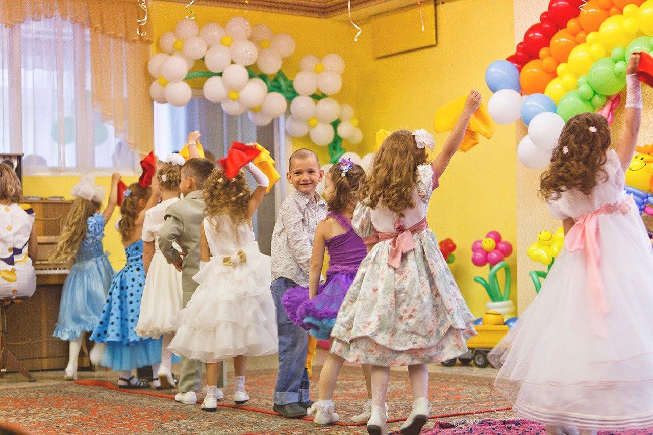 Фото детей выпускников детского сада