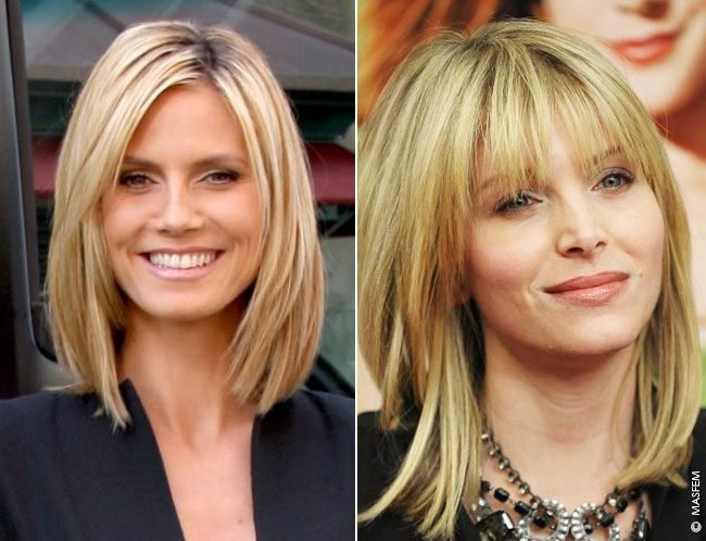 Причёски для квадратной формы лица фото