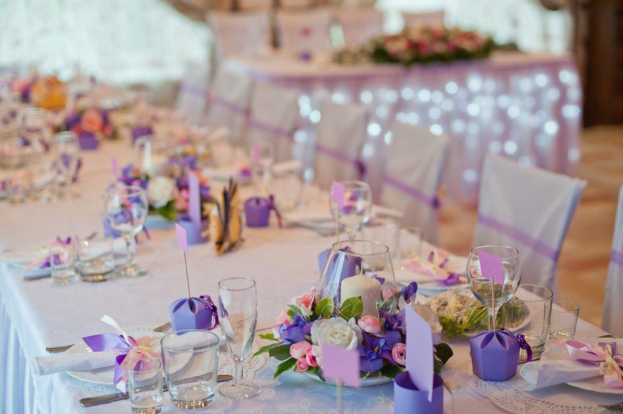 Украшение для свадебного стола своими руками фото 1