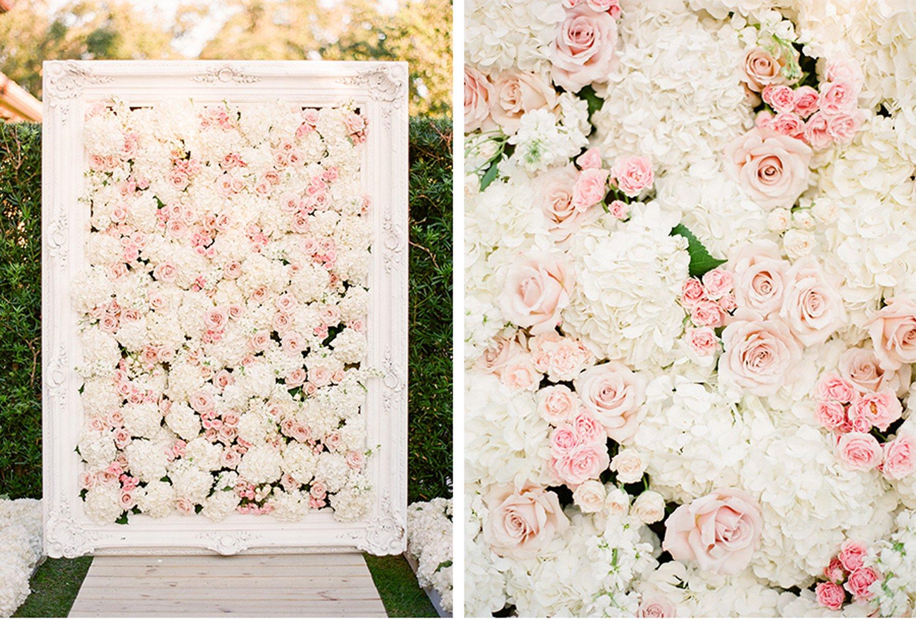 Какое оформление фотозоны на свадьбе можно воплотить своими руками