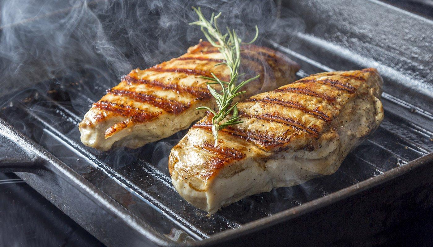 Как сделать стейк из курицы и сыром
