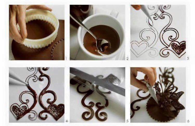 Из шоколада своими руками для торта 281