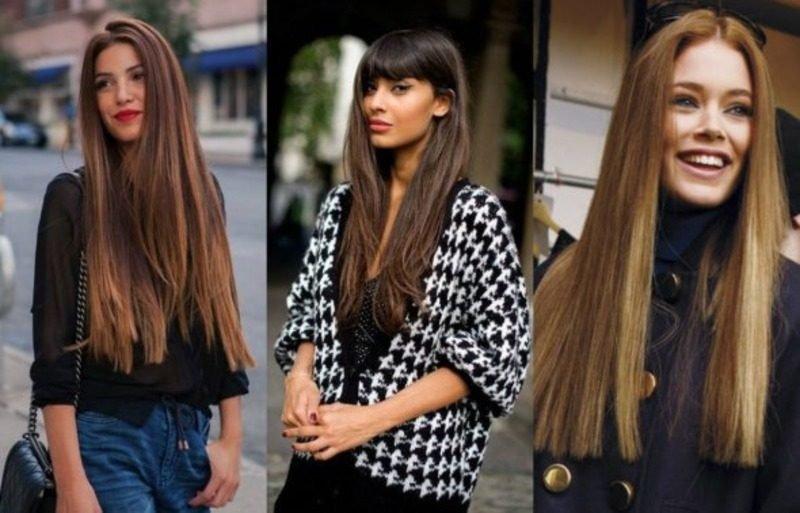 Прически 2018 женские 35 лет на длинные волосы