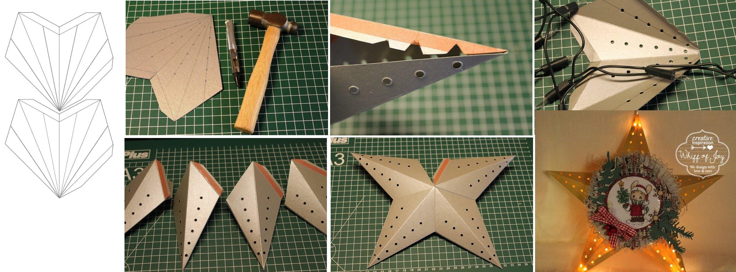 Как сделать звезду из бумаги - Оригами 24