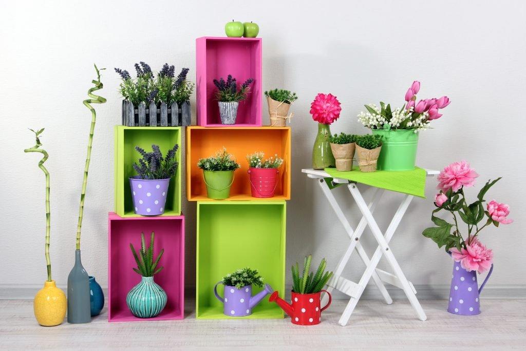 Идеи для домашних цветов своими руками 61