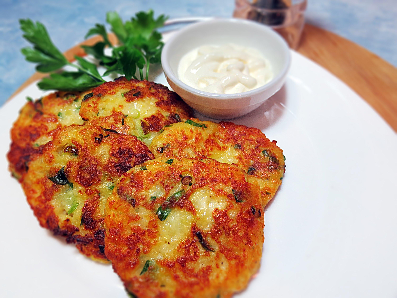 Драники с овощами рецепт пошагово с фото