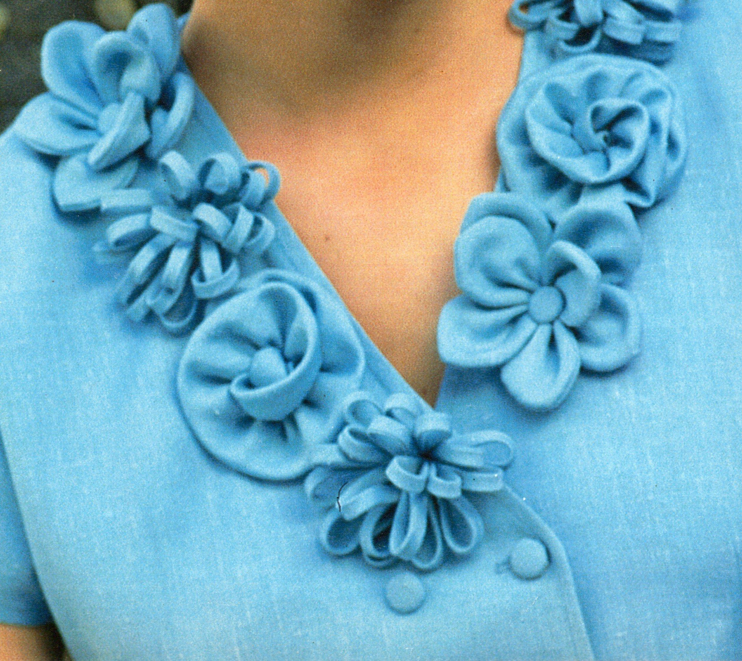 Сделать цветы из ткани своими руками для платья