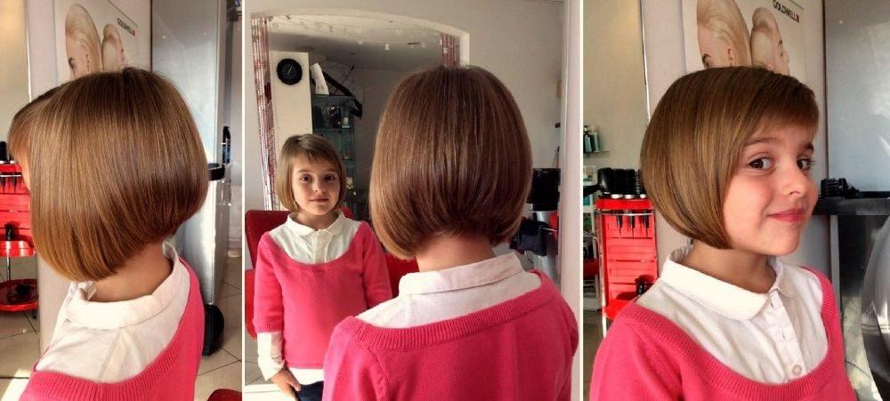 Прическа для девочка как подстричься