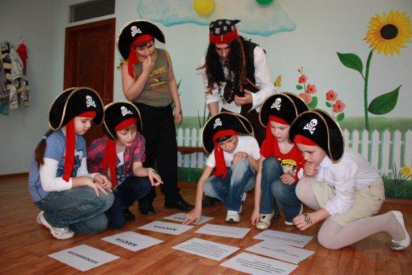 Сценарий на день рождения для мальчика пират