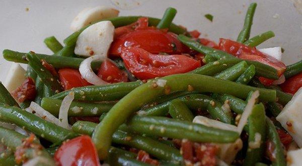 Рецепты салатов из зеленой стручковой фасоли